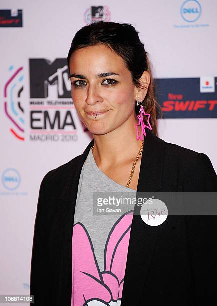 Bebe attends the MTV Europe Awards 2010 at the La Caja Magica on November 7 2010 in Madrid Spain