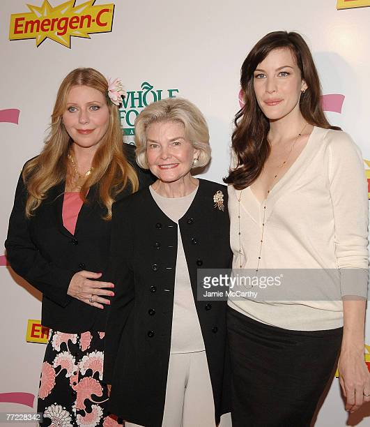 Bebe BuelDorothea Johnson and Liv Tyler arrive to Kick Off Breast Cancer Awarness Month with the Launch of Generation Pink EmergenC Pink at Whole...