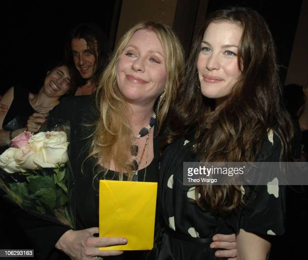 Bebe Buell and Liv Tyler during Bebe Buell Birthday Bash July 12 2006 at The Cutting Room in New York City New York United States