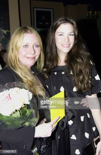 Bebe Buell and Liv Tyler during Bebe Buell Birthday Party July 12 2006 at Cutting Room in New York City New York United States
