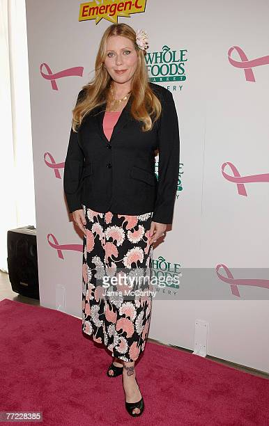Bebe Buell arrives to Kick Off Breast Cancer Awarness Month with the Launch of Generation Pink EmergenC Pink at Whole Foods Market in New York...
