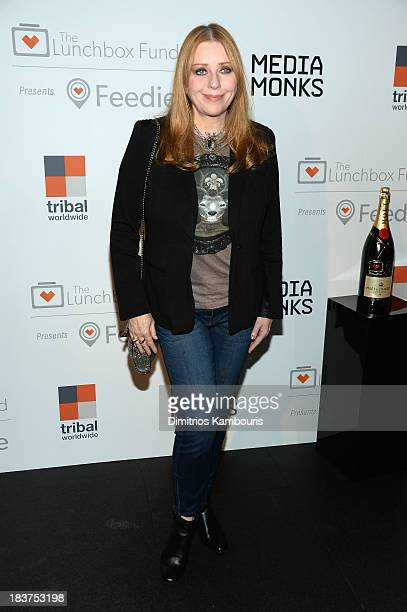 Bebe Buell attends The Lunchbox Fund Fall Fête at Buddakan, New York on October 9, 2013 in New York City.