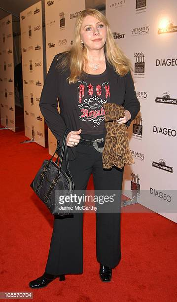 Bebe Buell during After The Sunset New York City Premiere Inside Arrivals at Ziegfeld Theater in New York City New York United States