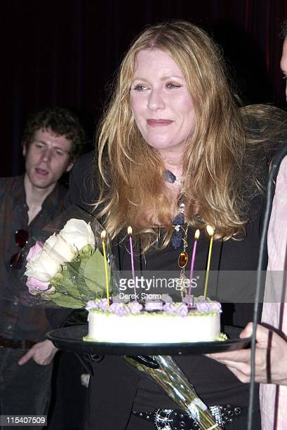 Bebe Buell during Bebe Buell Birthday Party July 12 2006 at Cutting Room in New York City New York United States