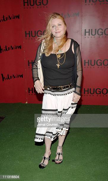 Bebe Buell during HUGO BOSS and Interview Magazine Host Private Party and Debut Concert by ArcKid at Hugo Roof Deck in New York City New York United...