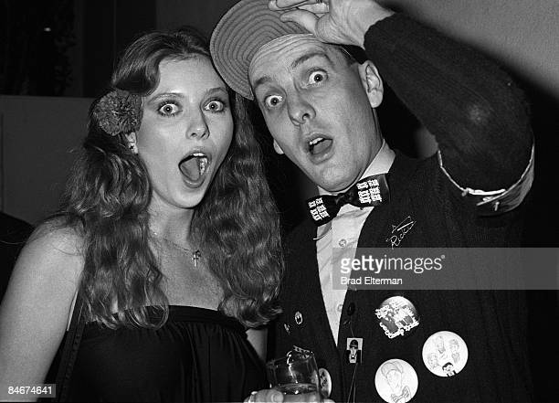 LOS ANGELES Summer 1978 Bebe Buell the mother of Liv Tyler and Rick Nielsen of Cheap Trick attend a Blondie party at Fiorucci in Los Angeles...