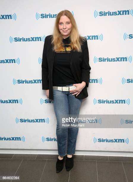 Bebe Buell visits at SiriusXM Studios on April 4 2017 in New York City