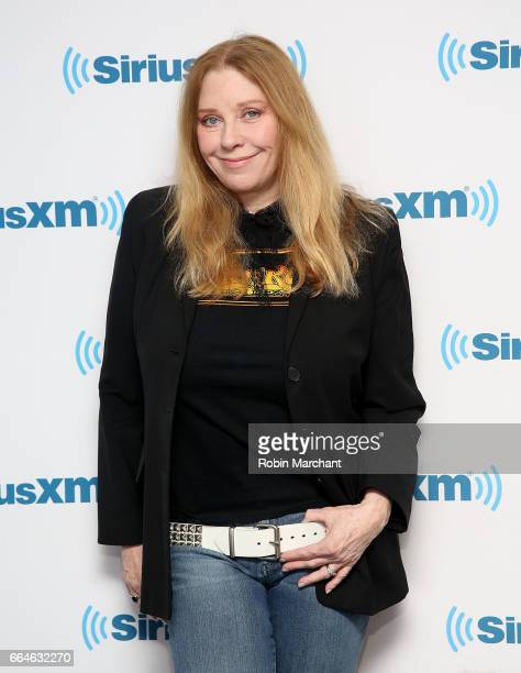 Bebe Buell visits at SiriusXM Studios on April 4, 2017 in New York City.