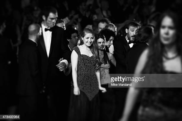 Bebe Cave attends the 'Il Racconto Dei Racconti' Premiere during the 68th annual Cannes Film Festival on May 14 2015 in Cannes France