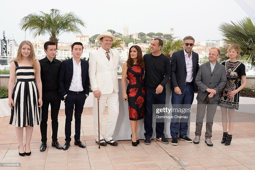 """""""Il Racconto Dei Racconti"""" Photocall - The 68th Annual Cannes Film Festival : Fotografía de noticias"""