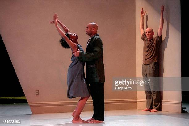 Bebe Miller Company performing Verge at BAM Harvey Theater on Friday February 16 2001This imageFrom left Melissa Wynn Darrell Jones and Ted Johnson