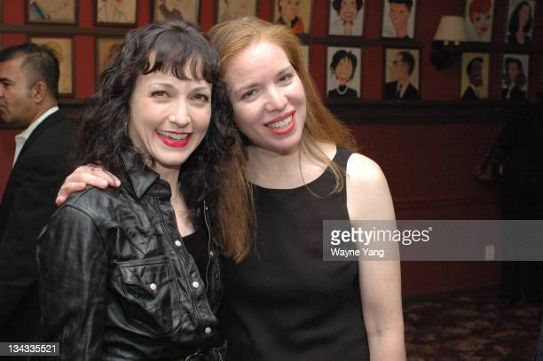 Bebe Neuwirth and Jessica Daryl Winer Artist Jessica Daryl Winer unveiled Sardi's Screens a series of seven panels depicting Broadway stars past and...
