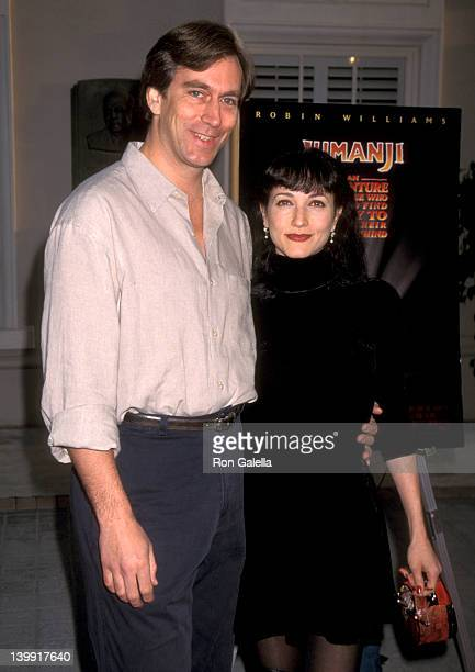 Bebe Neuwirth and Michael Danek at the Premiere of 'Jumanji' Sony Pictures Studios Culver City