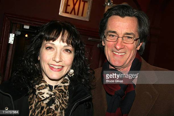 Bebe Neuwirth and Roger Rees during Sarah Jones' Bridge and Tunnel Broadway Opening Night Arrivals at Helen Hayes Theatre in New York City New York...