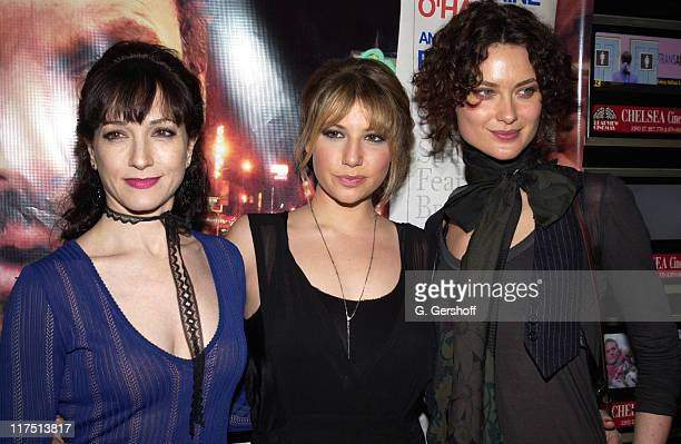Bebe Neuwirth Ari Graynor and Shalom Harlow during 'Game 6' New York City Premiere at Clearview Chelsea West Cinemas in New York New York United...