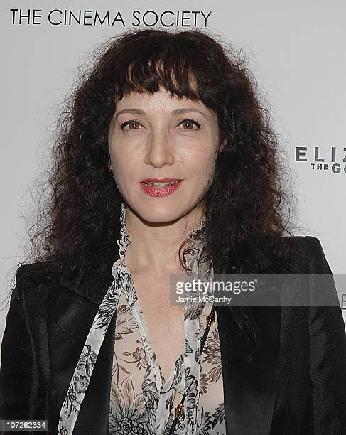 Bebe Neuwirth arrives at The Cinema Society and W Magazine Host Screening of 'Elizabeth The Golden Age' at the Tribeca Grand Hotel October 32007