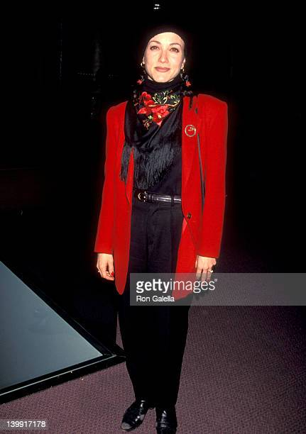 Bebe Neuwirth at the Premiere of 'Blue', Pacific Design Center, West Hollywood.