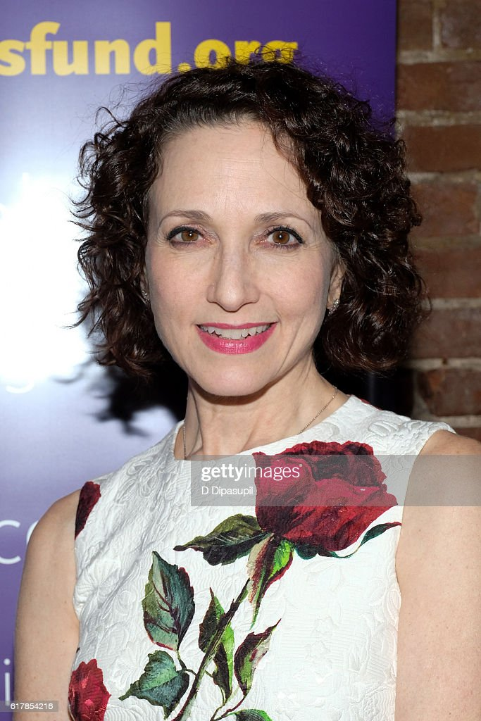Bebe Neuwirth attends the 20th anniversary of 'Nothing Like a Dame' benefit performance after party at Johns Pizzeria on October 24, 2016 in New York City.
