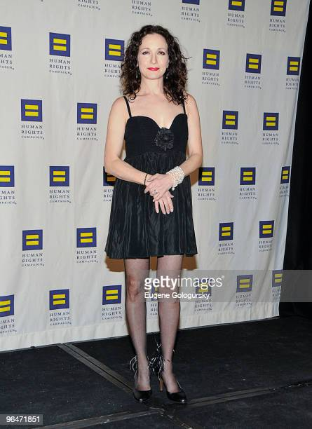 Bebe Neuwirth attends the 9th annual Greater New York Human Rights Campaign Gala at The Waldorf Astoria on February 6 2010 in New York City