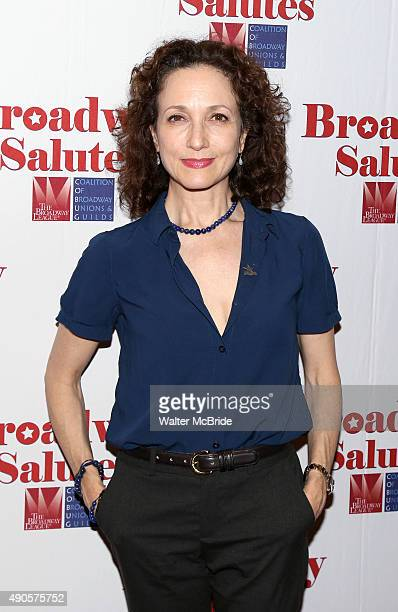 Bebe Neuwirth attends the Broadway Salutes 2015 in Anita's Way on September 29 2015 in New York City
