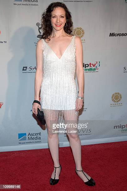 Bebe Neuwirth during 2005 International Emmy Awards Arrivals at New York Hilton in New York City New York United States