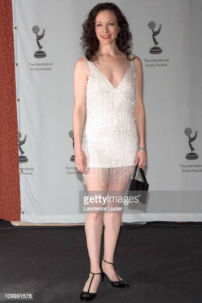 Bebe Neuwirth during 2005 International Emmy Awards Gala Press Room at New York Hilton in New York City New York United States