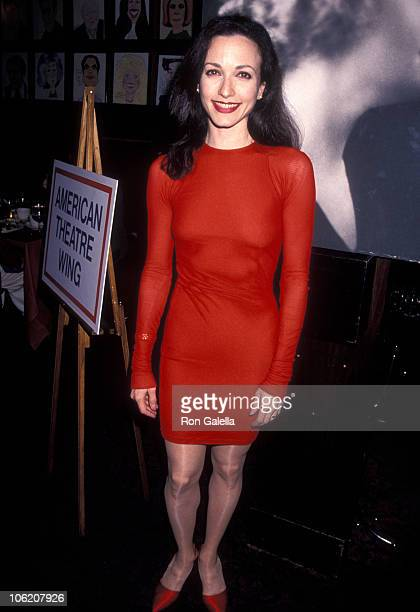 Bebe Neuwirth during American Theatre Wing Host PreTony Awards Party at Sardi's Restaurant in New York City New York United States