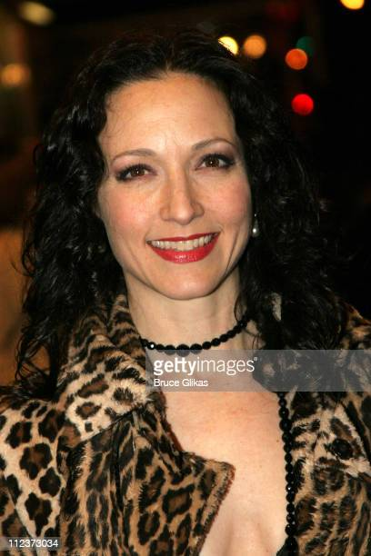 Bebe Neuwirth during 'Chita Rivera The Dancer's Life' Broadway Opening Night Arrivals at The Gerald Schoenfeld Theatre in New York City New York...