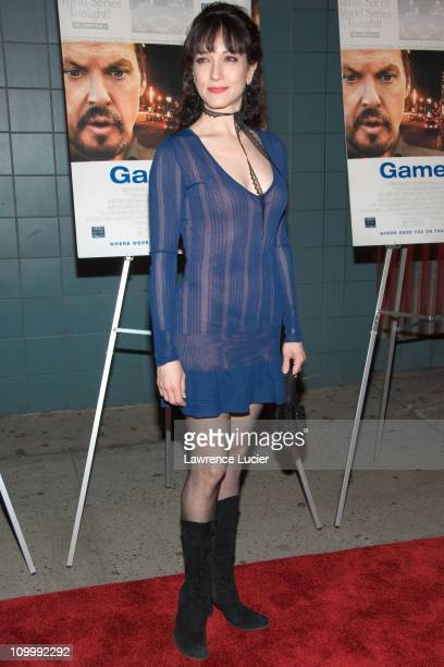 Bebe Neuwirth during Game 6 New York City Premiere at Clearview Chelsea West in New York City New York United States