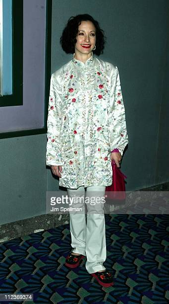 Bebe Neuwirth during 'Hysterical Blindness' Premiere New York at Chelsea Nine in New York City New York United States