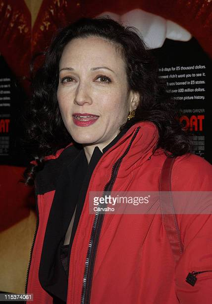 Bebe Neuwirth during 'Inside Deep Throat' New York City Premiere at Paris Theater in New York City New York United States
