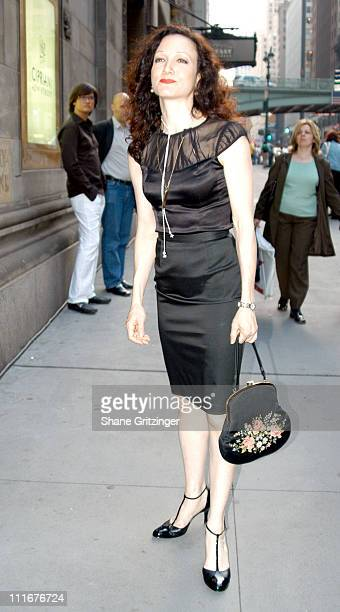 Bebe Neuwirth during Isaac Mizrahi High / Low Fall 2004 Fashion Show at Cipriani in New York City New York United States