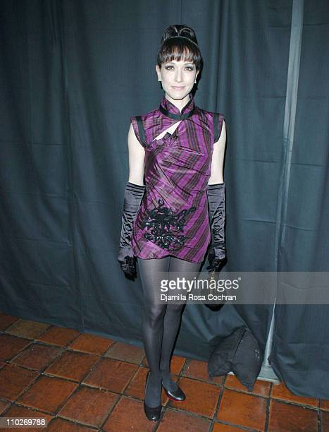 Bebe Neuwirth during Johnnie Walker Presents 'Dressed to Kilt' Arrivals and Backstage at Synod House at St John the Divine Cathedral Garden in New...