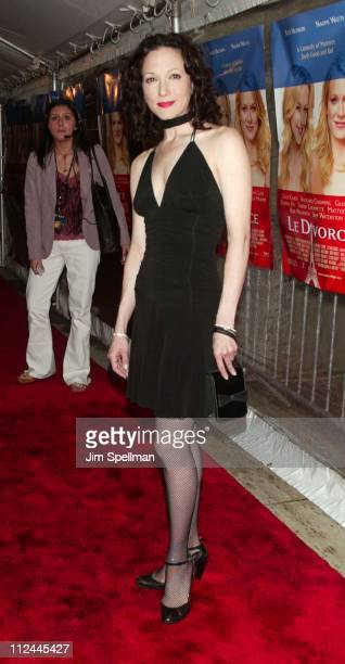 Bebe Neuwirth during 'Le Divorce' New York Premiere Outside Arrivals at The Paris Theater in New York City New York United States
