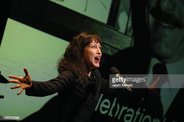 Bebe Neuwirth during Memorial Tribute to Vincent Sardi Jr 'The Mayor of Broadway' March 13 2007 at Gerald Schoenfeld Theatre in New York City New...