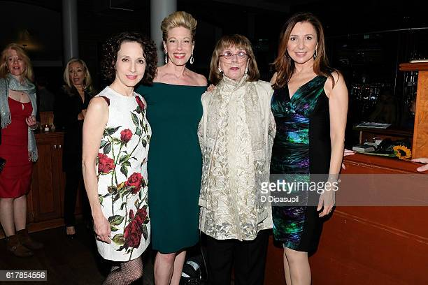 Bebe Neuwirth honoree Marin Mazzie Phyllis Newman and Donna Murphy attend the 20th anniversary of 'Nothing Like a Dame' benefit performance after...