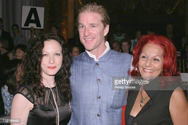 Bebe Neuwirth Matthew Modine and Patricia Field during Isaac Mizrahi for Target Fall 2004 Front Row at Cipriani in New York City New York United...