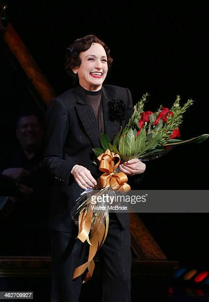 Bebe Neuwirth returns to Broadway's 'Chicago' at Ambassador Theater on January 14 2014 in New York City