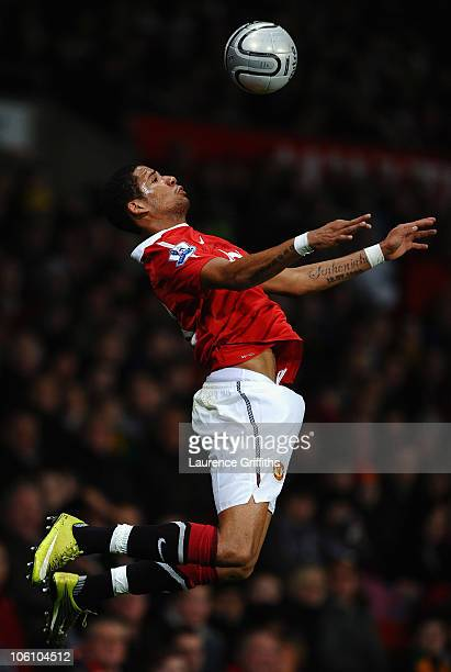 Bebe of Manchester United in action during the Carling Cup fourth round match between Manchester United and Wolverhampton Wanderers at Old Trafford...