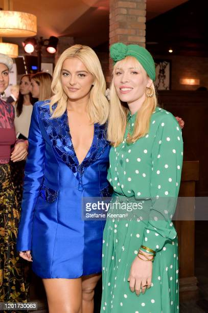 Bebe Rexha and Natasha Bedingfield attend the 3rd Annual Women in Harmony PreGrammy Luncheon with Host Bebe Rexha on January 24 2020 in Los Angeles...