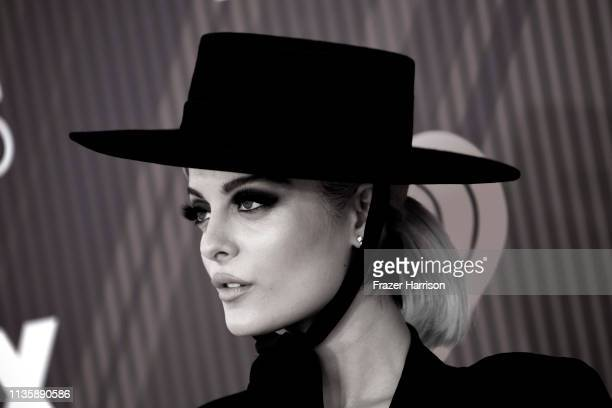 Bebe Rexha arrives at the 2019 iHeartRadio Music Awards which broadcasted live on FOX at Microsoft Theater on March 14, 2019 in Los Angeles,...