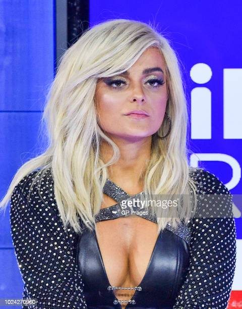 Bebe Rexha at the 2018 iHeartRADIO MuchMusic Video Awards at MuchMusic HQ Press Room on August 26 2018 in Toronto CanadaÊ