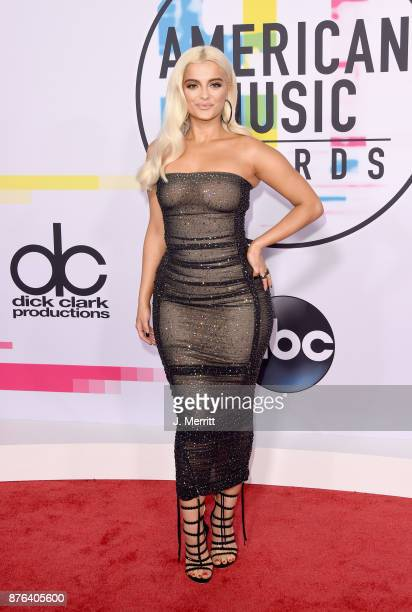 Bebe Rexha attends 2017 American Music Awards at Microsoft Theater on November 19 2017 in Los Angeles California