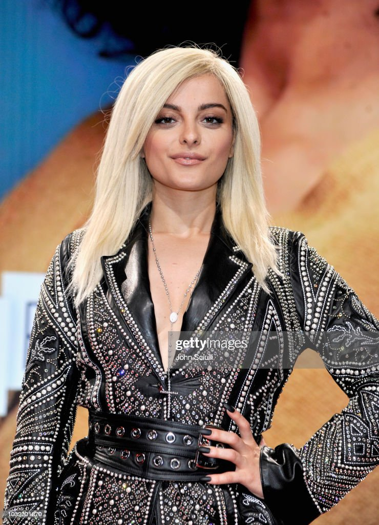 Bebe Rexha attends 2018 American Music Awards Nominations at YouTube Space LA on September 12, 2018 in Los Angeles, California.