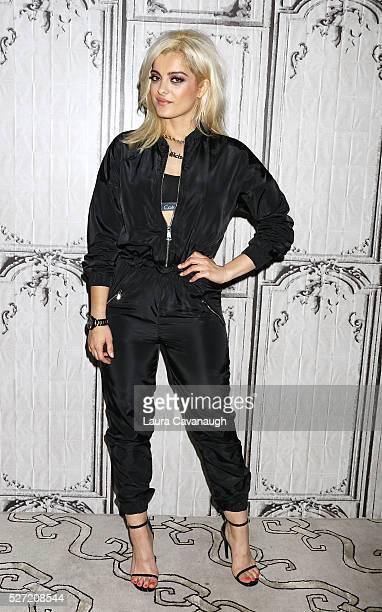 Bebe Rexha attends AOL Build Speaker Series at AOL Studios In New York on May 2 2016 in New York City