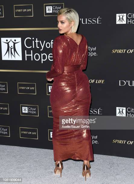 Bebe Rexha attends City of Hope Gala on October 11 2018 in Los Angeles California