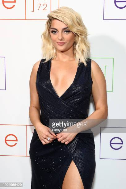Bebe Rexha attends e1972 during New York Fashion Week on February 08 2020 in New York City