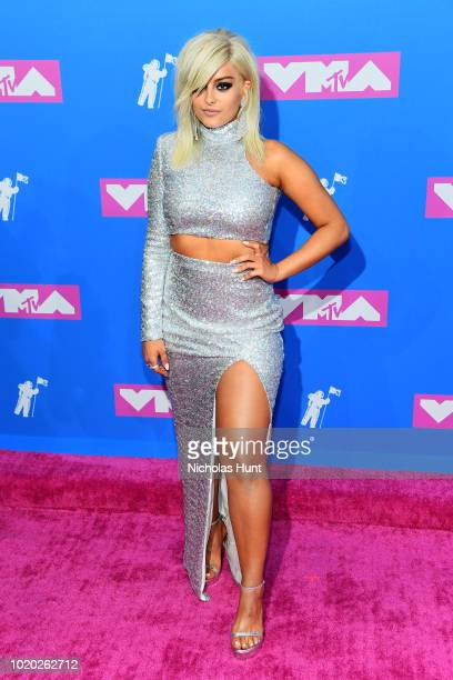 Bebe Rexha attends the 2018 MTV Video Music Awards at Radio City Music Hall on August 20 2018 in New York City