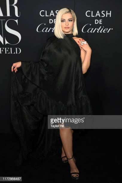 Bebe Rexha attends the 2019 Harper ICONS Party at The Plaza Hotel on September 06, 2019 in New York City.