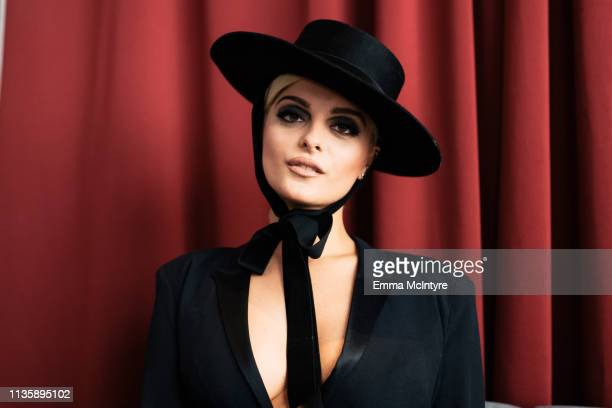 Bebe Rexha attends the 2019 iHeartRadio Music Awards which broadcasted live on FOX at Microsoft Theater on March 14 2019 in Los Angeles California